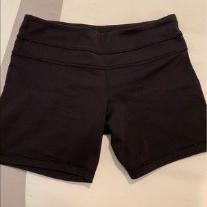 Lululemon Black Shorts - Size 6